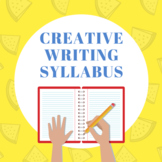 Creative Writing Syllabus (WORD DOC)