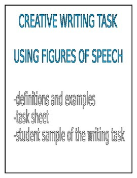 Creative Writing Task-Using Figures of Speech