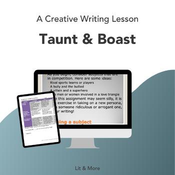 Creative Writing - Taunt & Boast, a Fixed-Form Poem