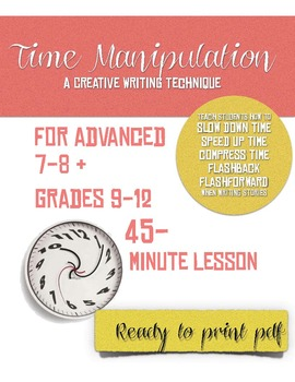 Creative Writing Technique: Time Manipulation