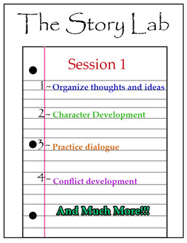 Creative Writing- The Story Lab Session 1