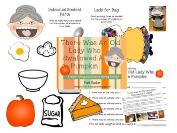 Creative Writing - There Was an Old Lady Who Swallowed a Pumpkin