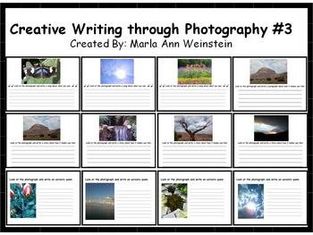 Creative Writing Through Photography Bundle
