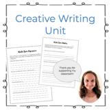 Creative Writing Unit