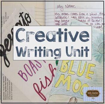 Creative Writing Unit {Full Trimester}