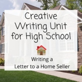 Creative Writing Unit  for High School- Writing a House Of