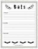 Creative Writing Unit on Bats