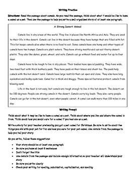 Creative Writing Using Evidence