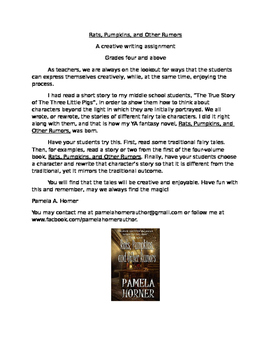 Creative Writing Using Fairy Tales