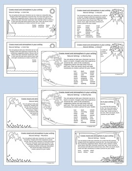 Creative Writing: Using natural settings to create mood and atmosphere