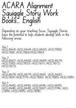 Creative Writing Workbook 1 - Squiggle Stories