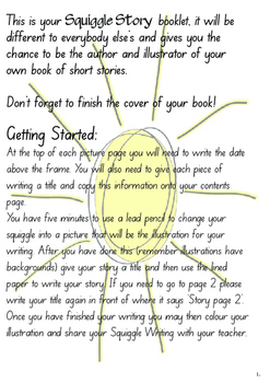 Creative Writing Workbook 1 - Squiggle Stories