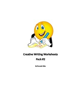 Creative Writing Worksheets Pack #2