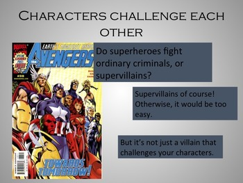 Creative Writing Workshop Lesson 3:  Building Strong Characters