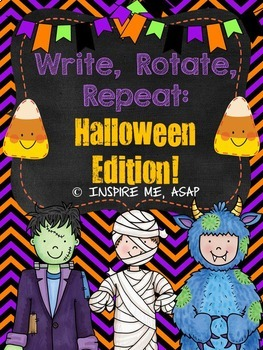 Creative Writing: Write, Rotate, Repeat BUNDLE