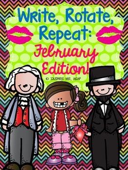 Creative Writing: Write, Rotate, Repeat- February Edition