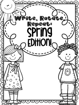 Creative Writing: Write, Rotate, Repeat...Spring Edition