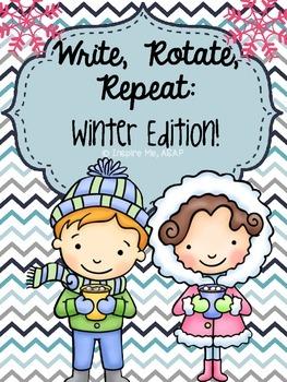 Creative Writing: Write, Rotate, Repeat...Winter Edition!
