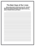 Creative Writing/ Writing Prompt