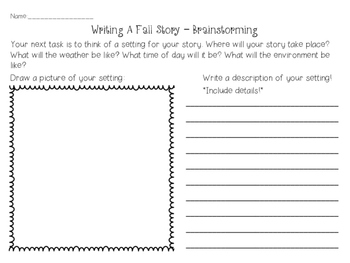 Creative Writing - Writing a Story & Play Project (FALL)