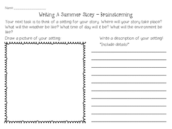 Creative Writing - Writing a Story & Play Project (SUMMER)
