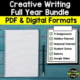 Creative Writing Year Long Bundle