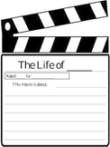 Creative Writing- Your Life as a Movie-Kindergarten+