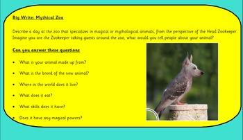 Creative Writing - Zoo Keeper for Mythological Creatures