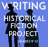 Historical Fiction Writing Project | Creative Research Project | Fun Assessment
