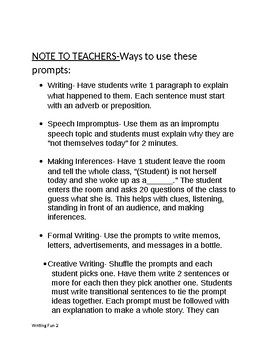 speech about myself for students
