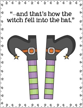 """Creative Writing """"...and that's how the witch (or goblin) fell into the hat."""""""