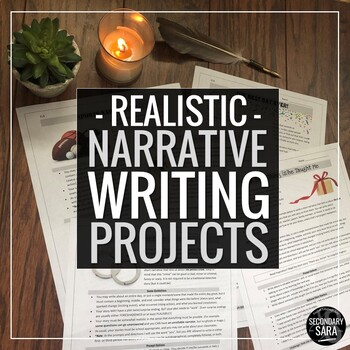 Creative Writing for Teens: Realistic Fiction/Narrative Assignment Pack