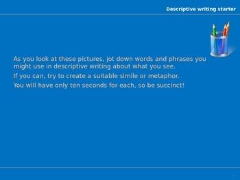 Creative Writing starters - Amazing!