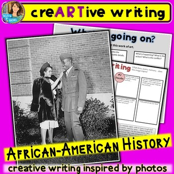 Creative Writing with African-American history photos