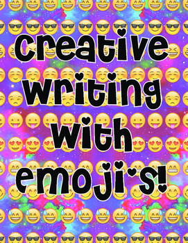 Creative Writing with Emoji Activity