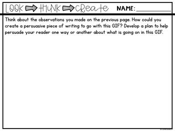 Creative Writing with GIFS