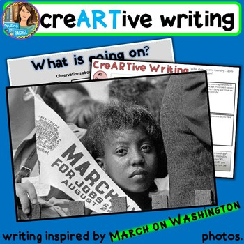 Creative Writing with March on Washington photos