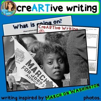 Creative Writing with March on Washington photos