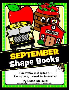 Creative Writing with September (Fall) Shape Books