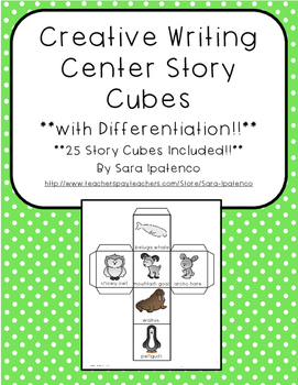 Creative Writing with Story Cubes