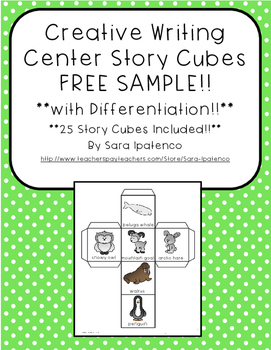Creative Writing with Story Cubes FREE SAMPLE!!