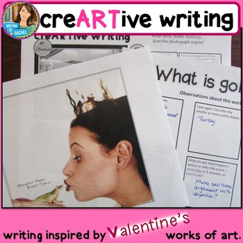Picture Prompts: Valentine's Day Creative Writing Art Prompts