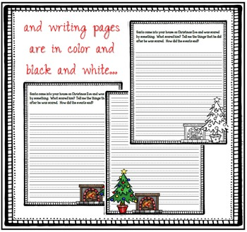 December Narrative Writing- Something Scared Santa...