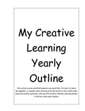 Creative Yearly Outline
