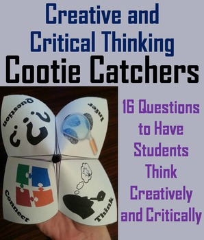 Creative and Critical Thinking 7th 6th 5th 4th Grade Reading Comprehension