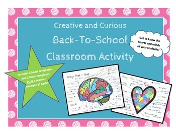 Creative and Curious Back-To-School Activity