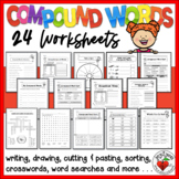 Compound Words -  Independent Worksheets