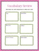 Non-Fiction Text Structures and Vocabulary