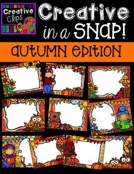 Creative in a SNAP: AUTUMN Edition {Creative Clips Digital