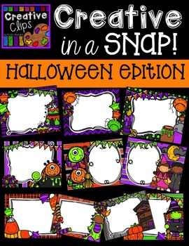 Creative in a SNAP: HALLOWEEN Edition {Creative Clips Digital Clipart}